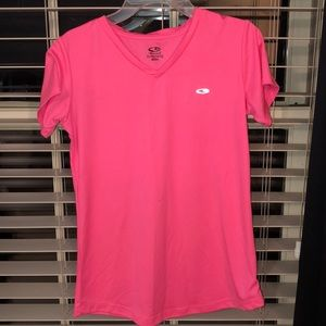 Youth Neon Pink Athletic Shirt